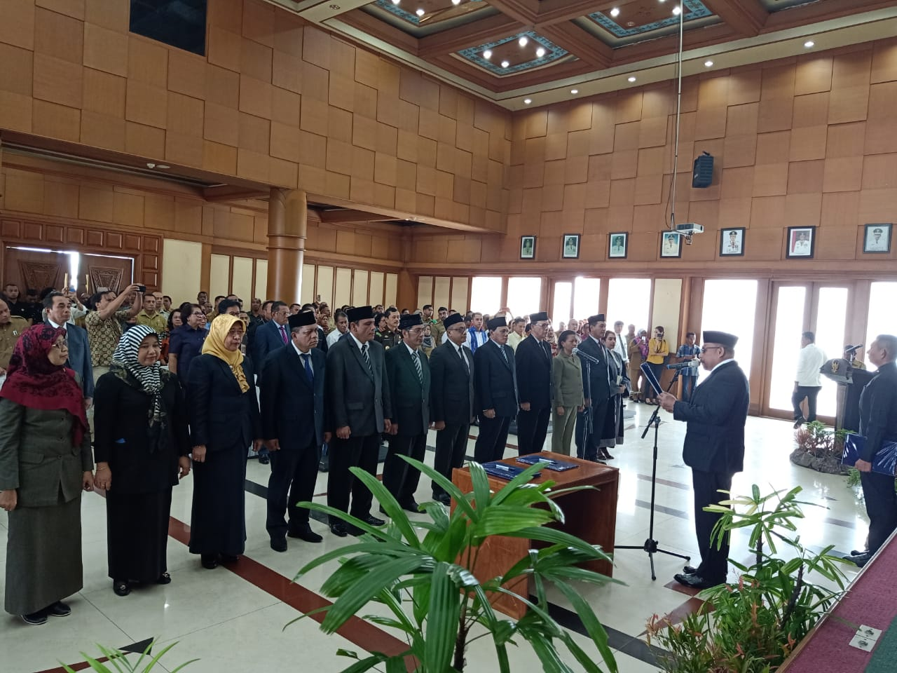 10 Pejabat Pemprov Maluku Bergeser Posisi