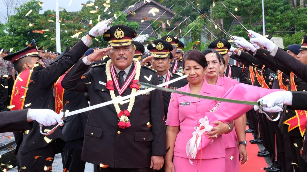 Puluhan Personel Polda Maluku Purnabakti