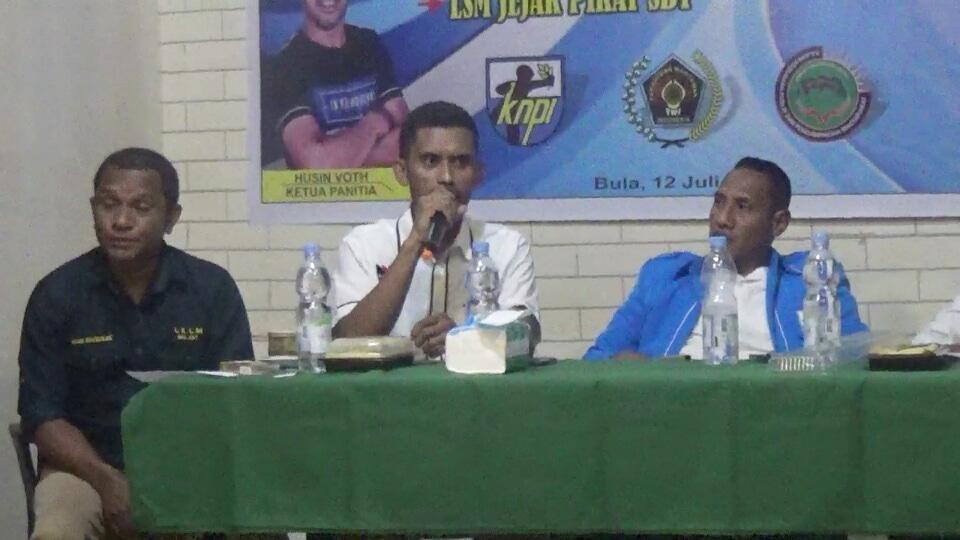 PWI SBT Bersama KNPI dan Jejak Pikat Gelar Diskusi Pemuda