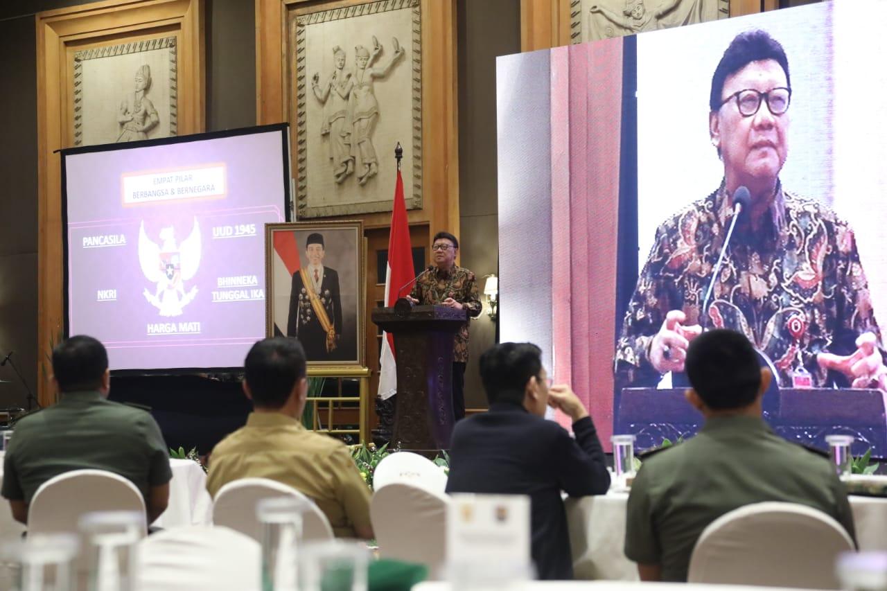 Mendagri: Kepala Daerah Harus Selipkan Nilai 4 Pilar Dalam Sambutan