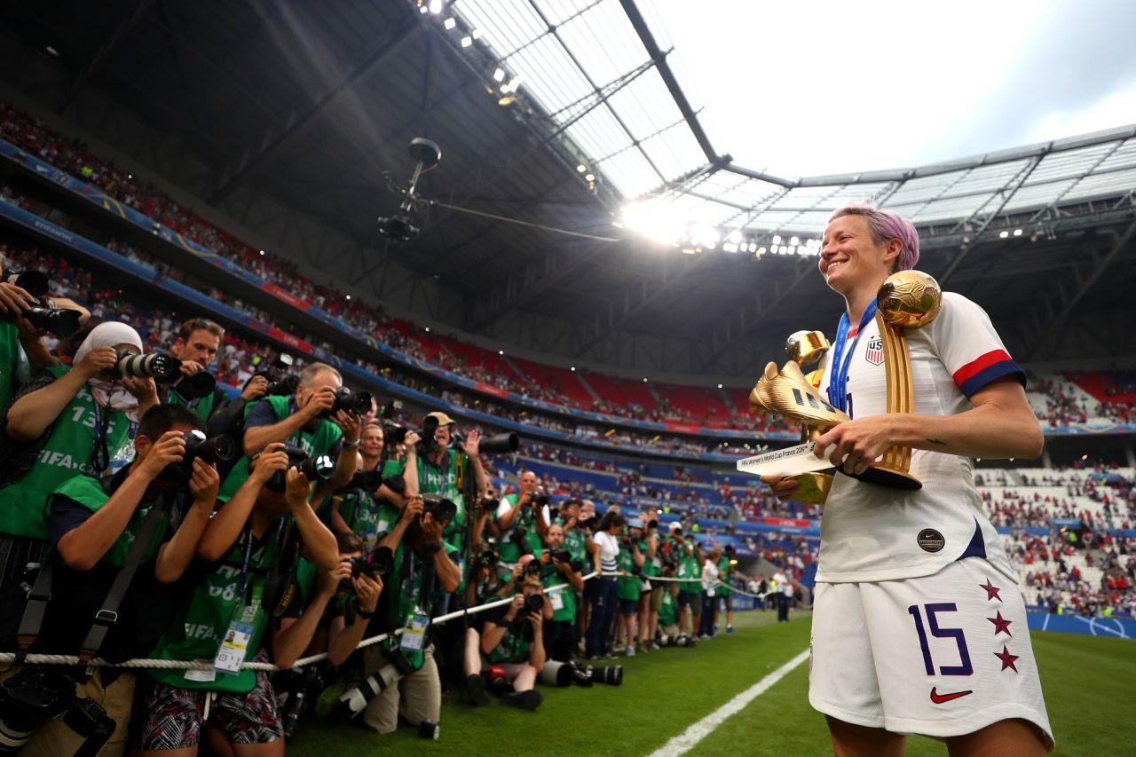 Kapten Amerika Serikat Borong Gelar Individu Piala Dunia Wanita 2019