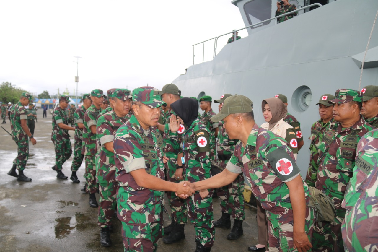 Kodam Pattimura Kirimkan Satgasgulbencal ke Halmahera
