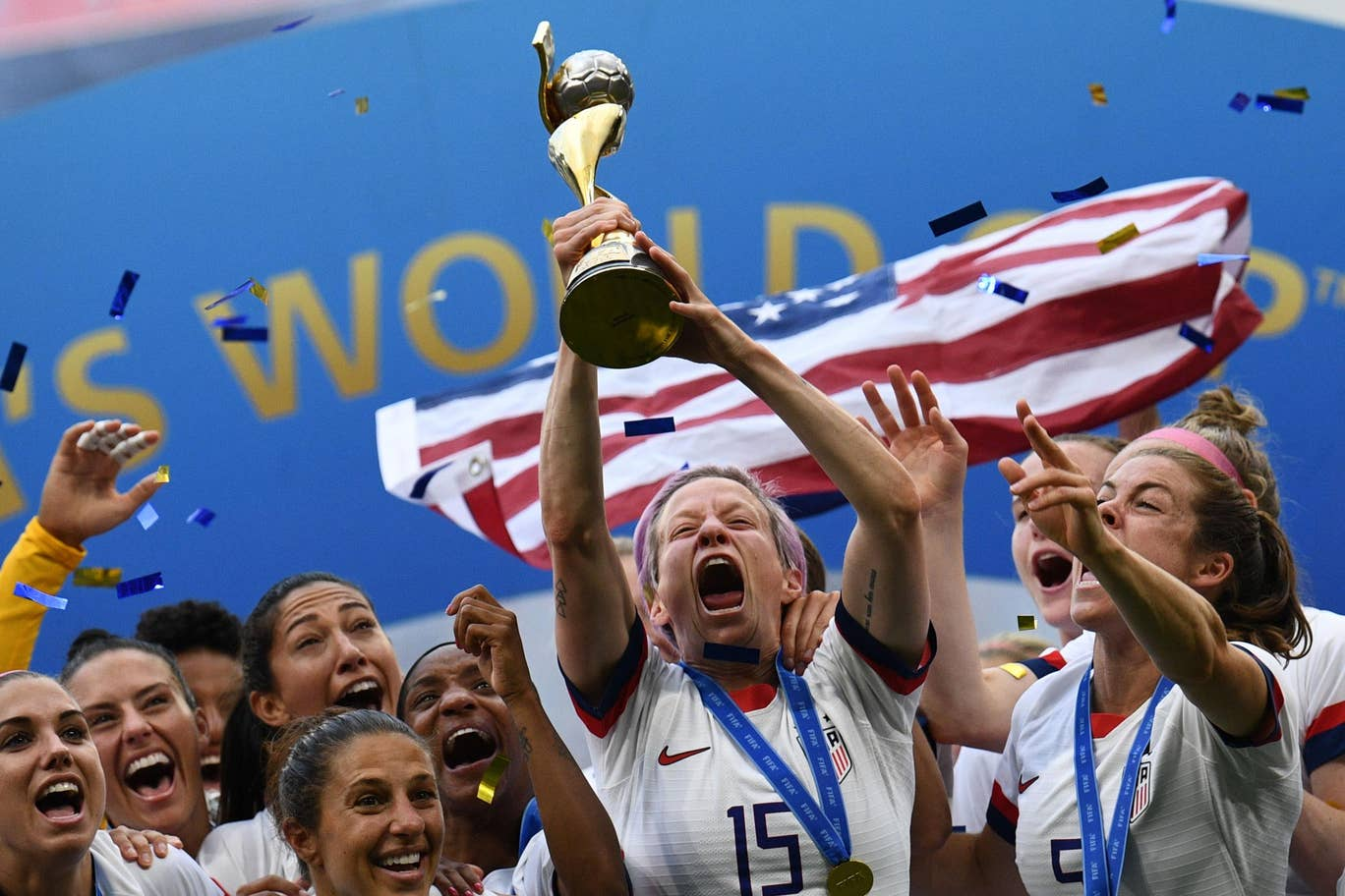 Impian Belanda Sirna, Amerika Serikat Juara Piala Dunia Wanita 2019
