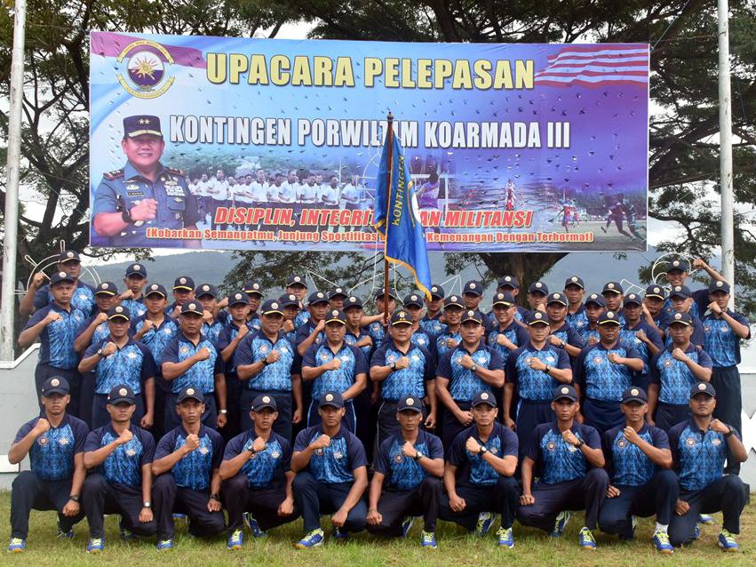 Pangkoarmada III: Tampilkan Prestasi Terbaik di Porwiltim