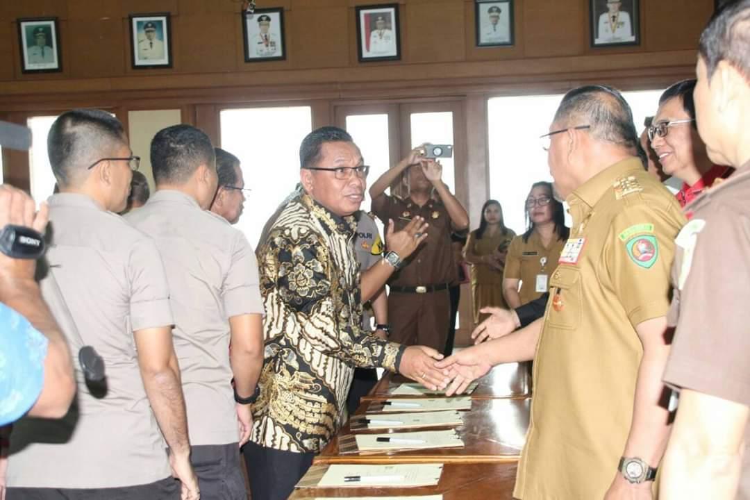 APIP – APH Teken MoU, Gubernur Maluku: APIP Harus Cegah Kerugian Daerah
