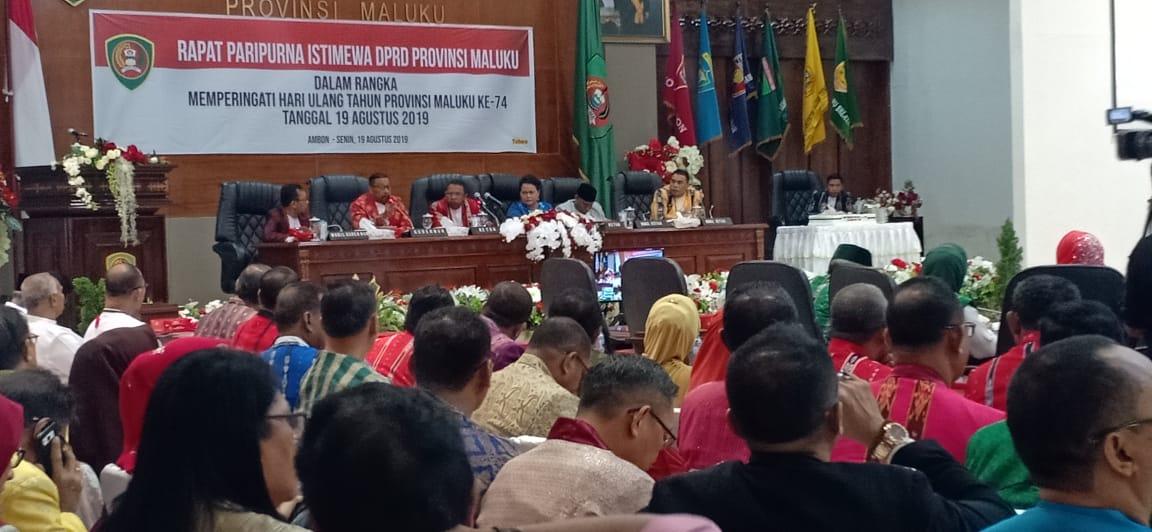 HUT Ke-74 Provinsi Maluku, Gubernur Ajak Tertib Dalam Sistem