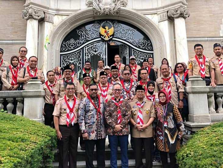 Hadiri Jambore Dunia, Gubernur Gaet 30 Investor AS ke Maluku