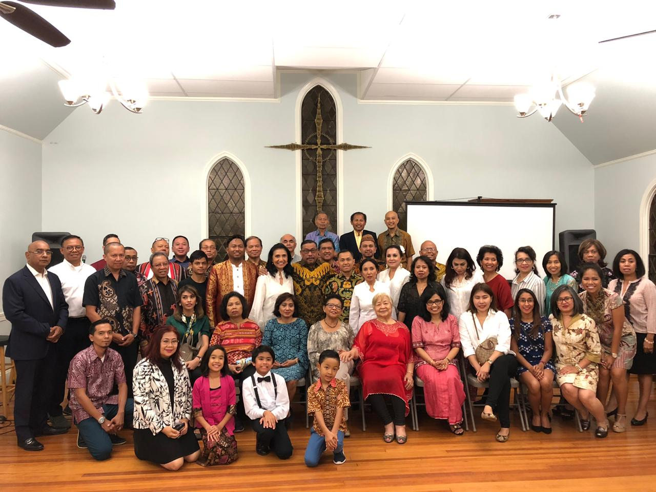 Gubernur Jumpa Diaspora Maluku di Amerika Serikat