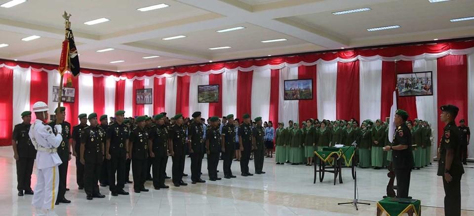 Pangdam Pattimura Pimpin Sertijab Sejumlah Pejabat Kodam