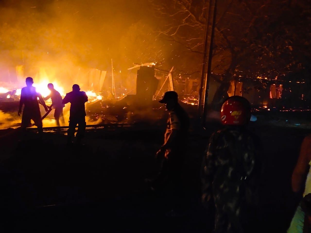 Asrama Kampus Unidar Tulehu Dilalap Api