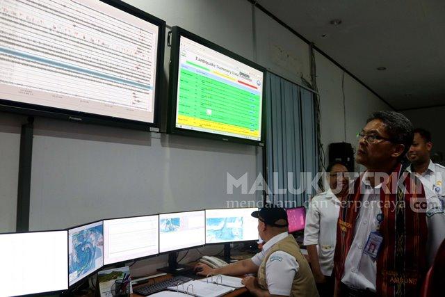 Kepala Deputi Meteorologi Tinjau Kesiapan Fasilitas Stasiun BMKG di Maluku