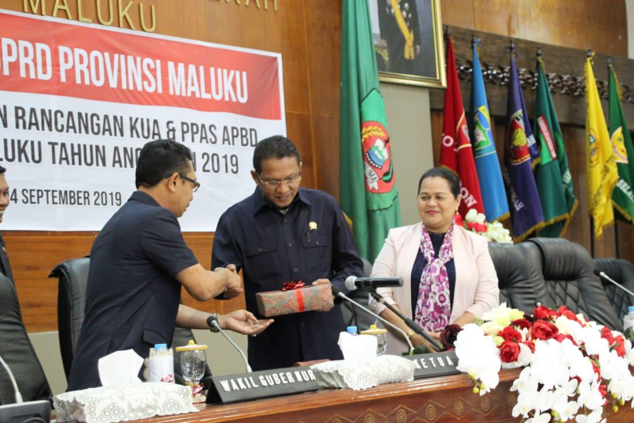 Wagub Maluku: Target Pendapatan Daerah Turun Rp 30,26 M
