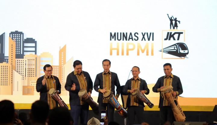 Ketum HIPMI Beri 'Kode' Jadi Menteri, Jokowi: Saya Nangkep