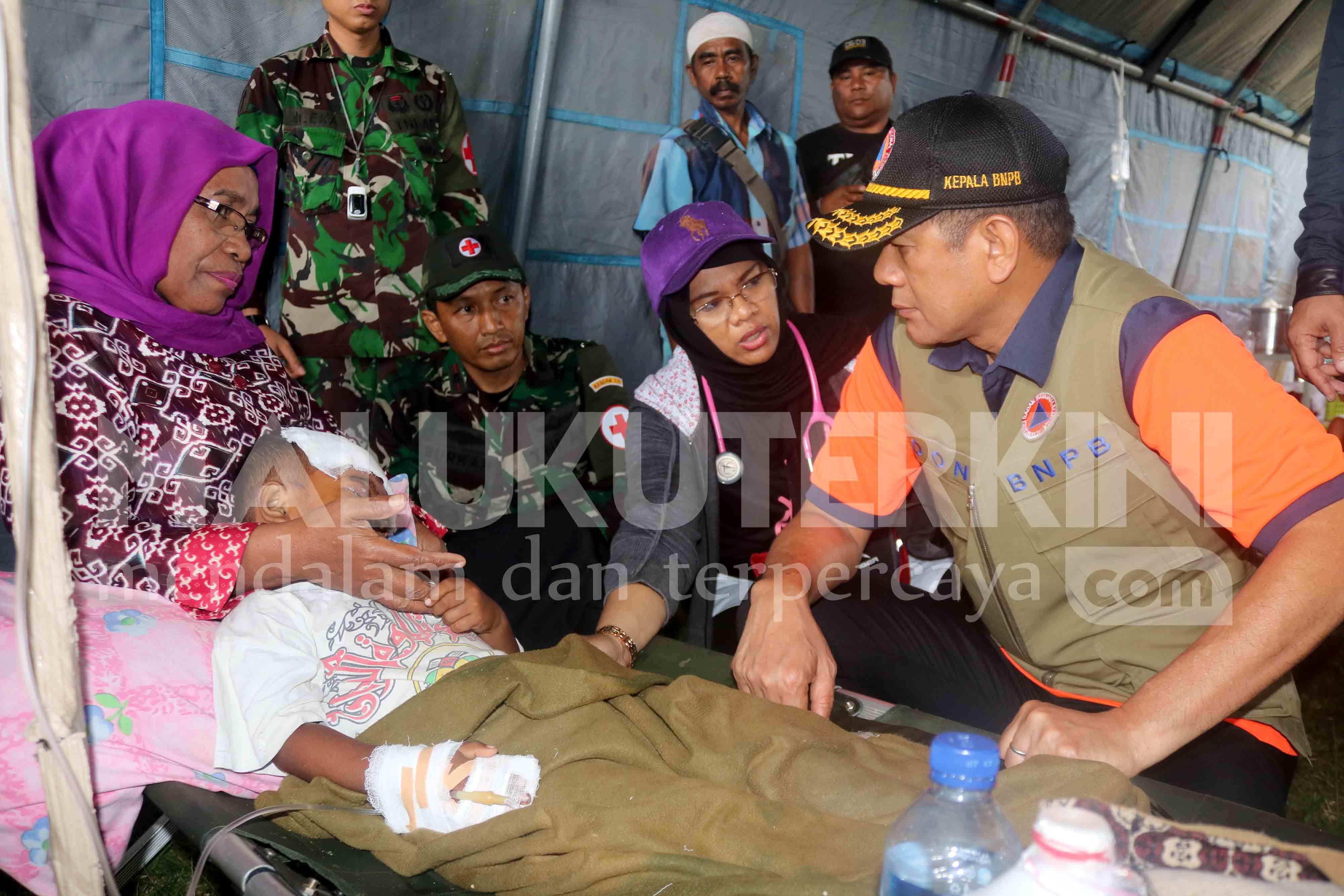 Presiden Instruksikan Kepala BNPB Tindak Lanjut Penanganan Bencana di Maluku
