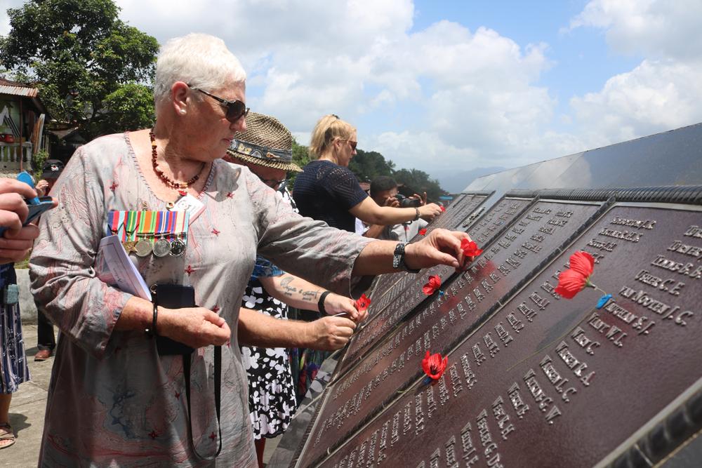 Peringatan 74 Tahun Pembebasan Tentara Australia di 'Kudamati Memorial'