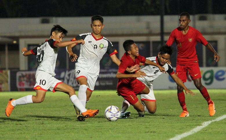 Pesta Gol ke Gawang Brunei, Modal Indonesia Lawan China