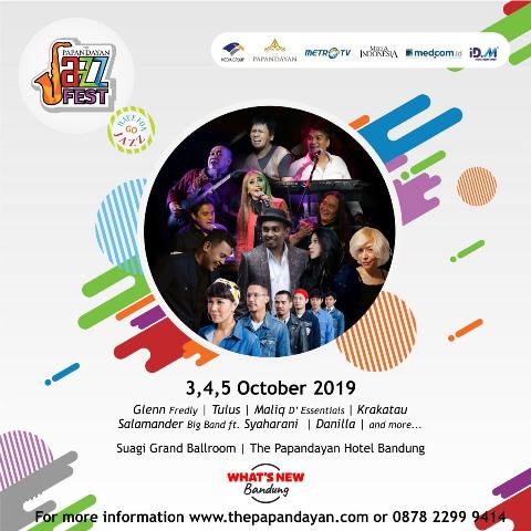 Glenn Fredly akan Meriahkan 'The Papandayan Jazz Fest 2019'