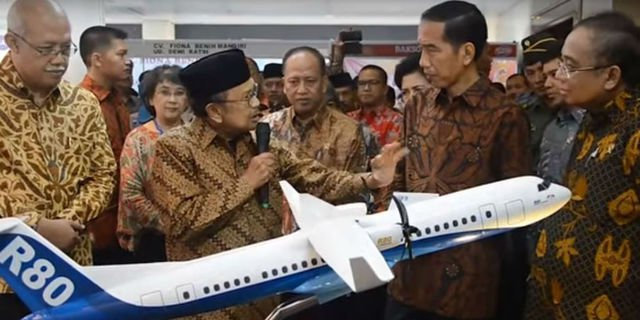 Netizen Kian Semangat Wujudkan Pesawat R80 Impian BJ Habibie