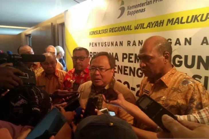 Menteri PPN/Kepala Bappenas Janji Dorong Penambahan DAU Maluku