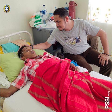 Korban Gempa Ambon, Pemain Timnas U-16 Ini Masuk Rumah Sakit