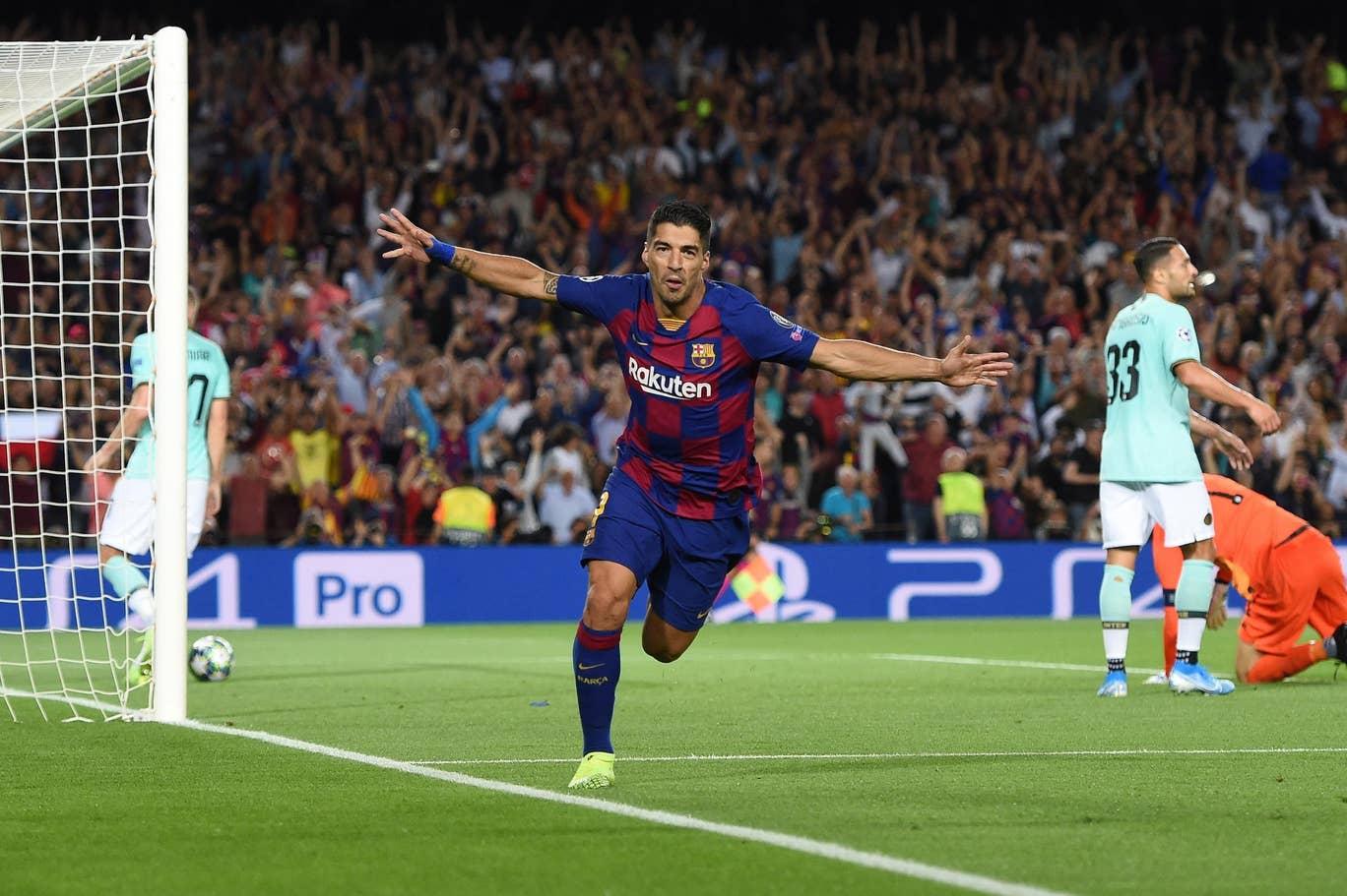 Sempat Tertinggal, Dua Gol Suarez Menangkan Barcelona