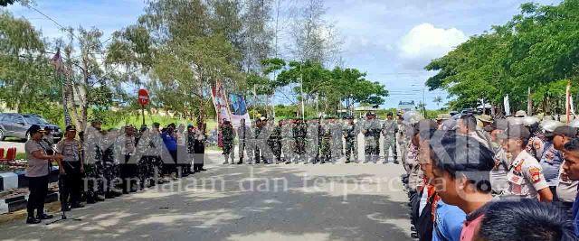 Jelang Pelantikan Anggota DPRD Aru, 250 Personel TNI – Polri Disiagakan