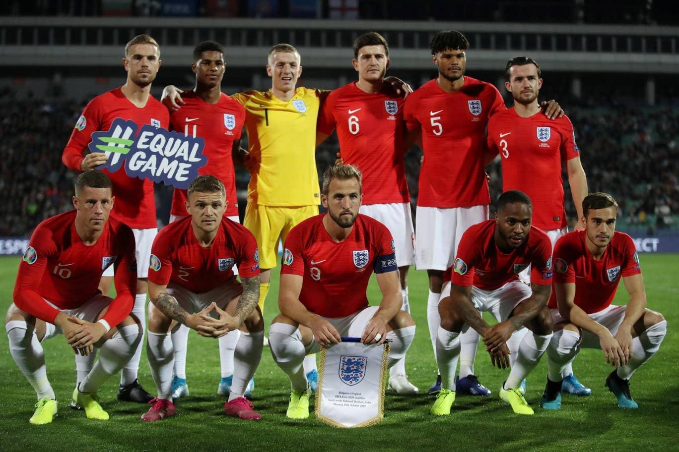 Kualifikasi Piala Eropa 2020: Inggris Libas Bulgaria 6-0