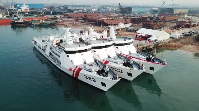 Tiga Kapal Baru Perkuat Bakamla, Satu Ditempatkan di Ambon