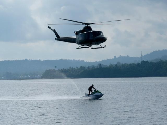 Patroli Harkamtibmas, Kapolda Maluku Gunakan Jetski – Pangdam Pattimura Pakai Helikopter