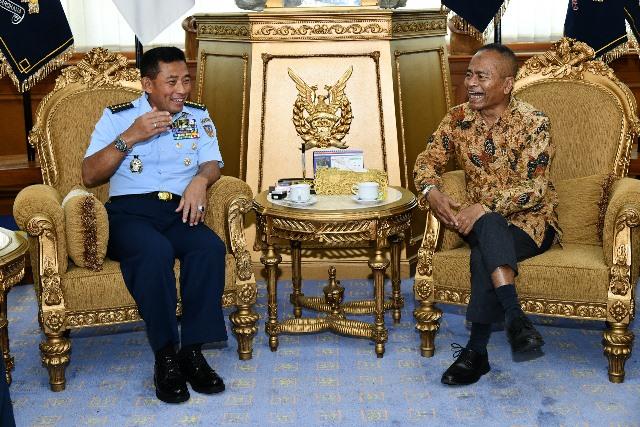 PWI & TNI AU Siap jalin Kerjasama