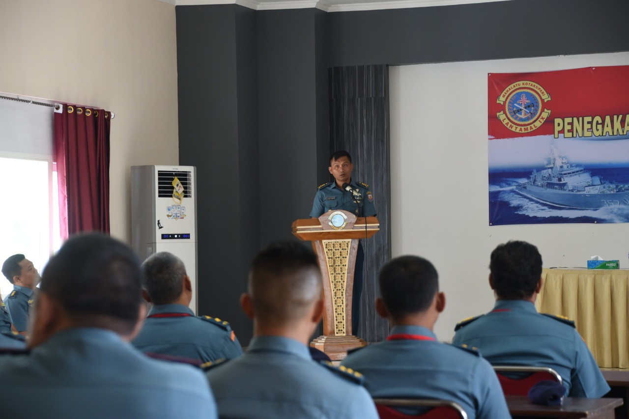 Lantamal Ambon Gelar Latihan Penegakan Hukum Tindak Pidana Tertentu Di Laut