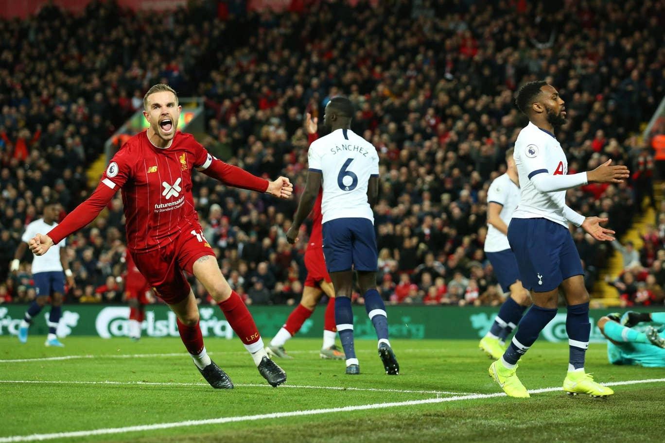 Sempat Tertinggal, Liverpool Ungguli Tottenham 2-1