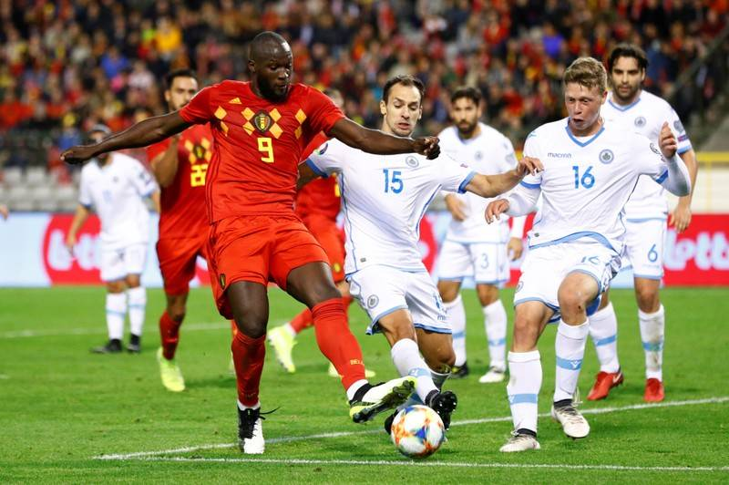 Libas San Marino 9-0, Belgia Tim Pertama Lolos ke Piala Eropa 2020