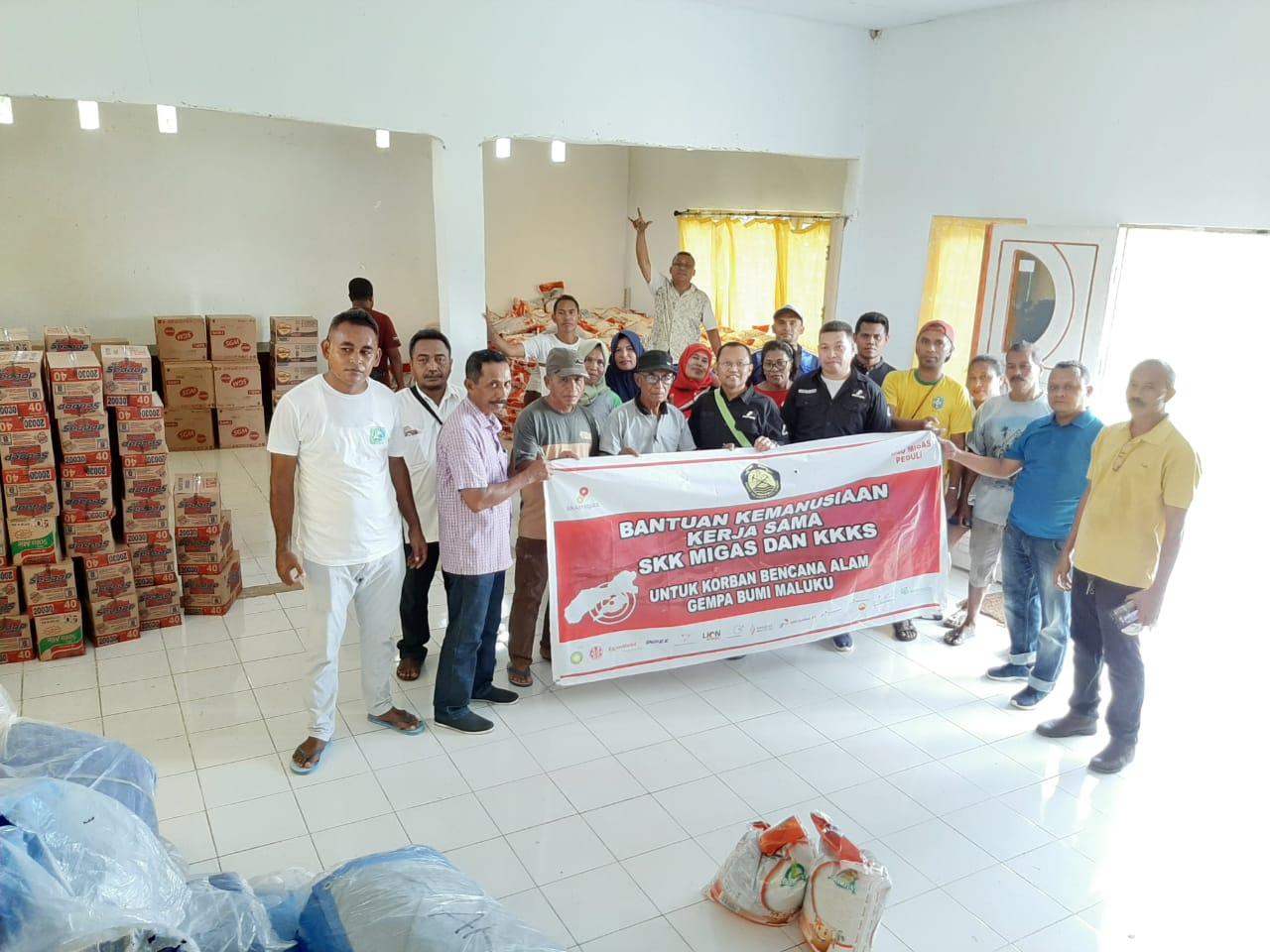 SKK Migas dan Kontraktor KKS Salurkan Bantuan untuk Warga Terdampak Gempa Maluku