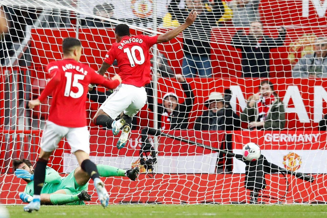Laga Ketat di Old Trafford Berakhir Tanpa Pemenang