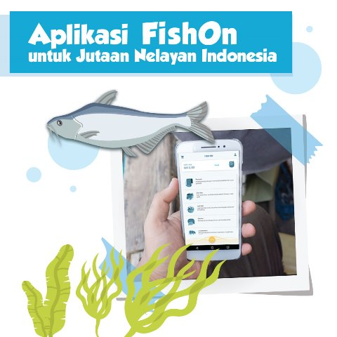 Kini Nelayan Indonesia Bisa Cari Ikan di Laut Pakai Aplikasi HP
