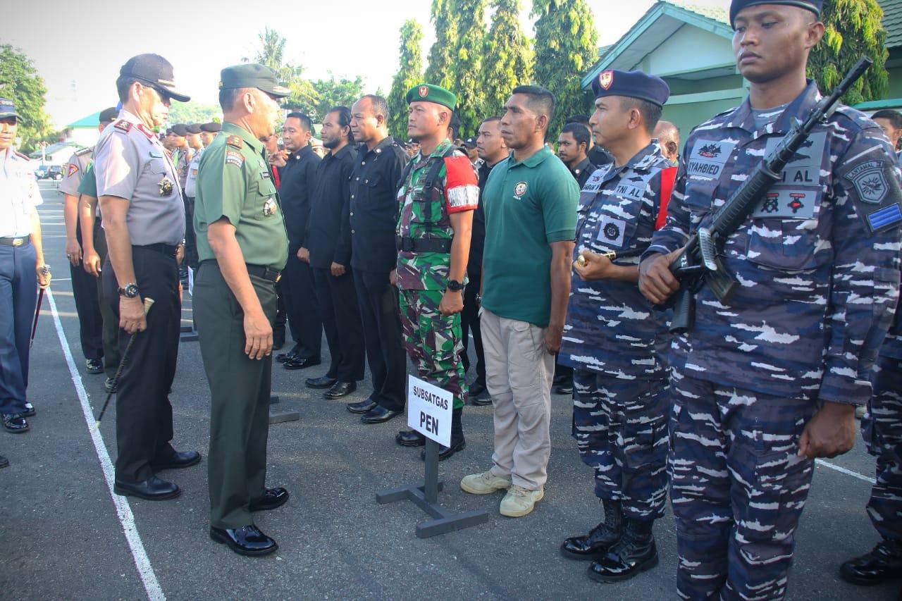 2.539 Personil Gabungan Amankan Kunjungan Presiden Jokowi