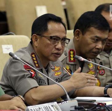 Presiden Jokowi Ajukan Komjen Idham Aziz Jadi Kapolri ke DPR