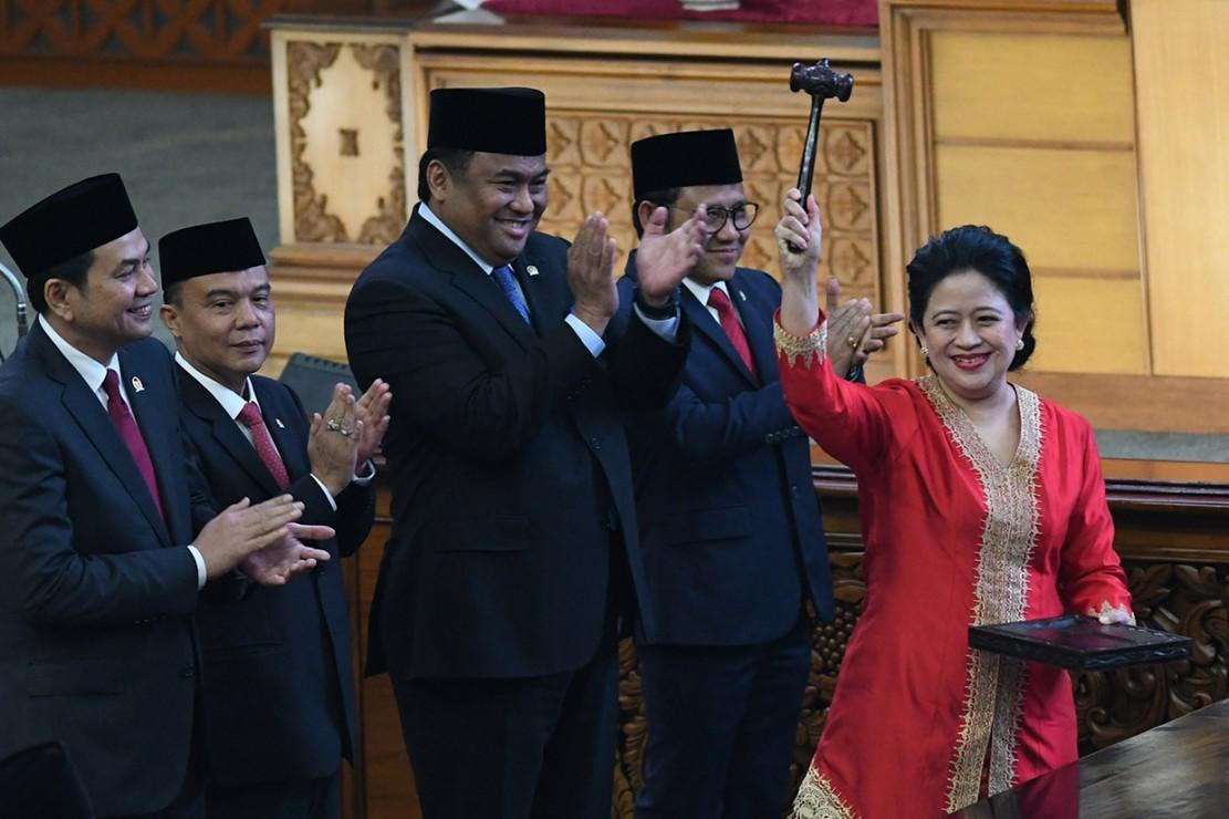 Puan Maharani Perempuan Pertama yang Jadi Ketua DPR RI