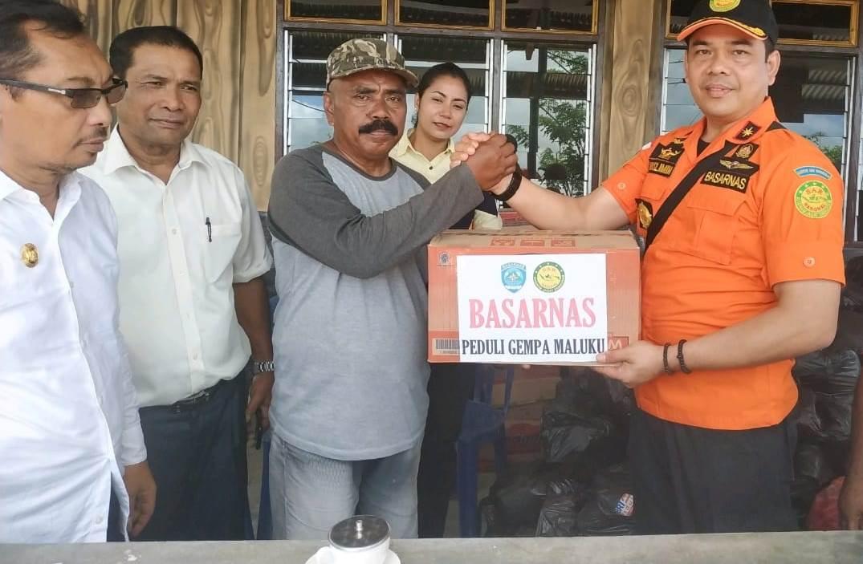 Kantor SAR Ambon Bantu Korban Gempa