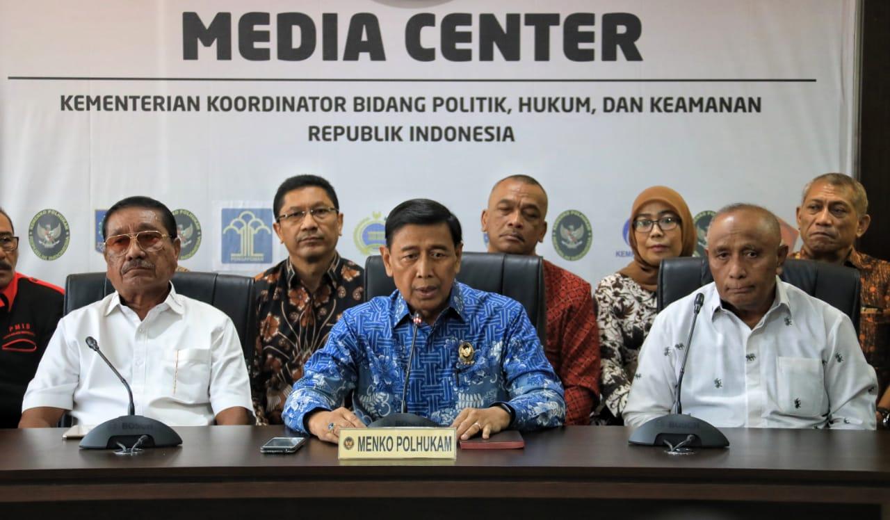 Wiranto Minta Maaf soal Pengungsi Gempa Maluku Bebani Negara