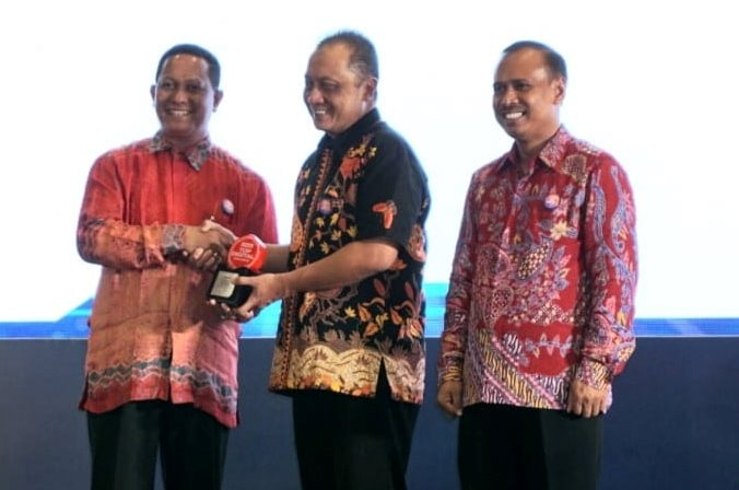 Pemkot Ambon Dianugerahi Top Digital Awards 2019