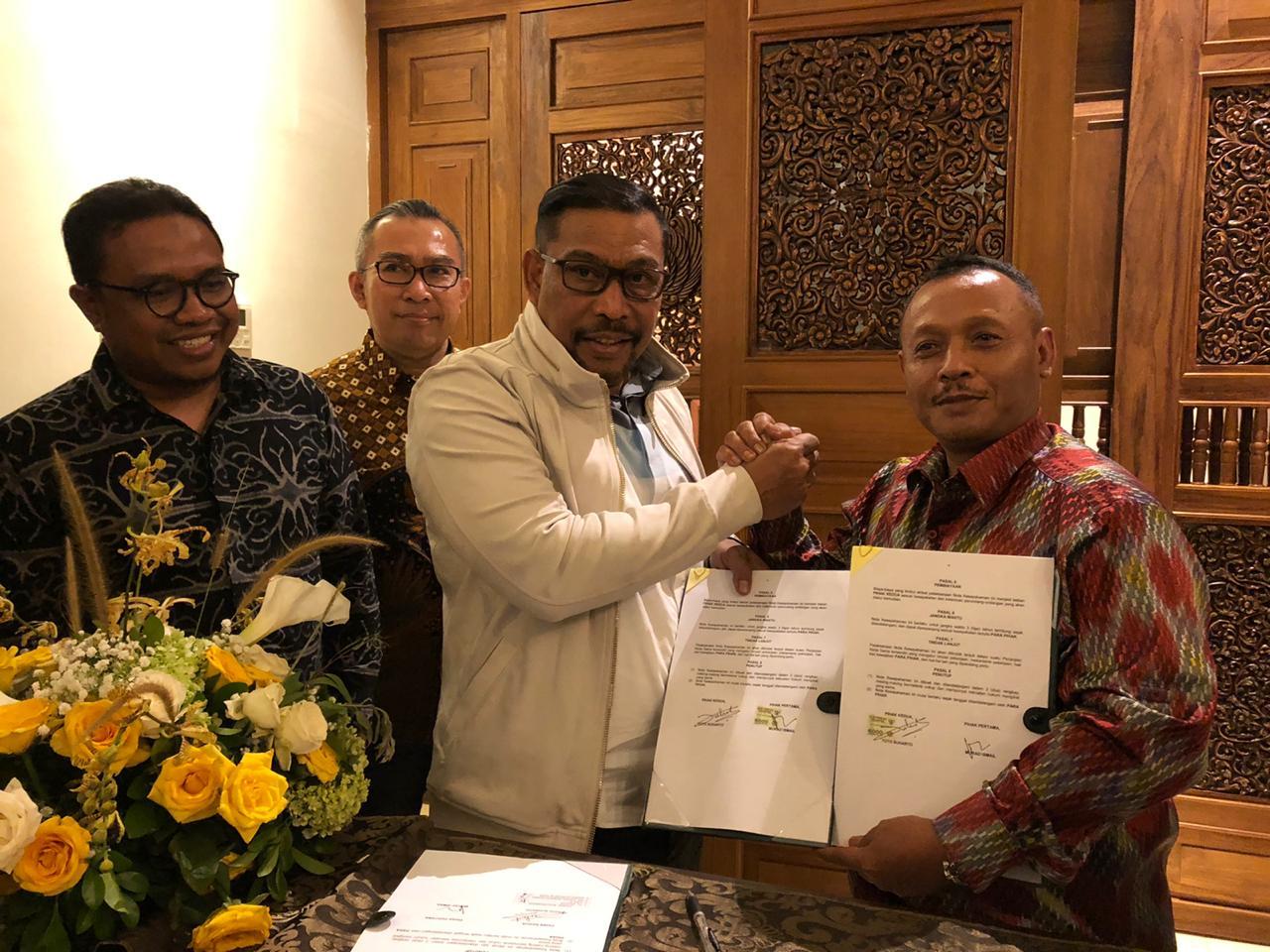 BP-Jamsostek & Gubernur Maluku Teken MoU Pelatihan Pra Kerja