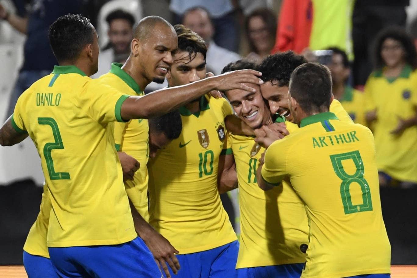 Akhiri Puasa Kemenangan, Brasil Libas Korea Selatan 3-0