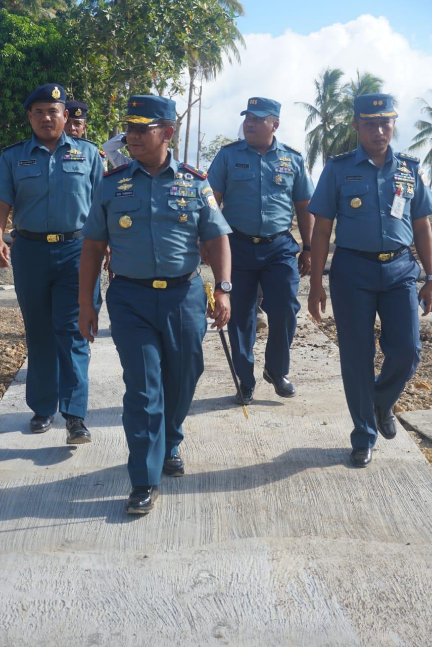 Danlantamal Ambon Kunjungi Lanal Saumlaki