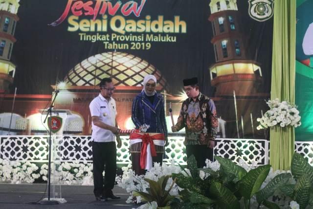 Festival Seni Qasidah Mulai Digelar, Gubernur Maluku: Jangan Dimaknai Sekedar Serimonial
