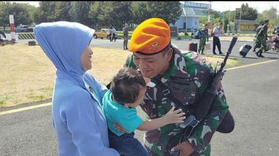 21 Personel Yonko 463 Paskhas Ditugaskan ke Lanud Pattimura