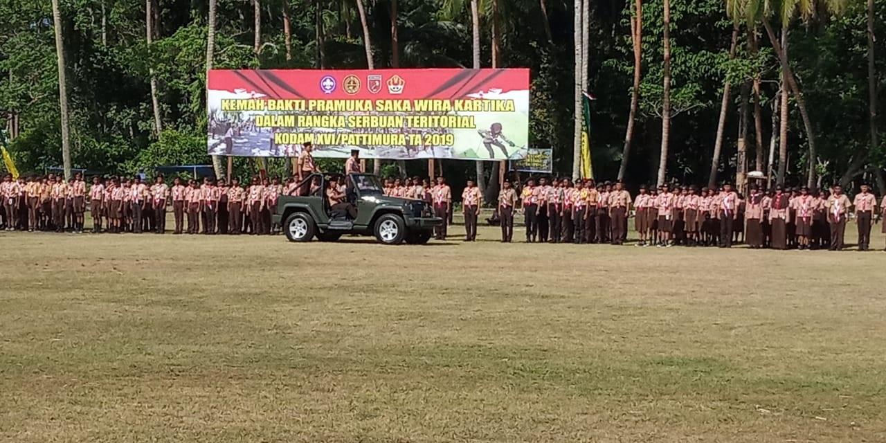 1.500 Anggota Pramuka Ikuti Kemah Bhakti Saka Wira Kartika