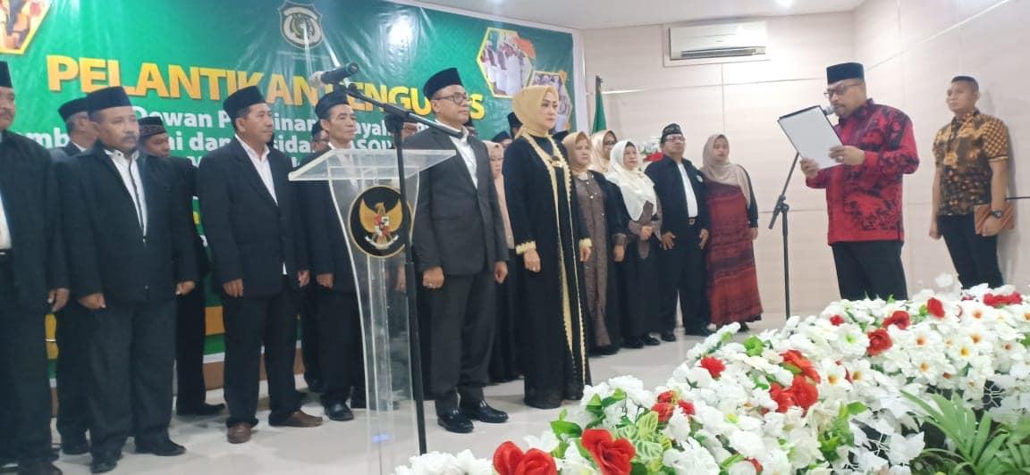 Gubernur Lantik DPW Lasqi Provinsi Maluku
