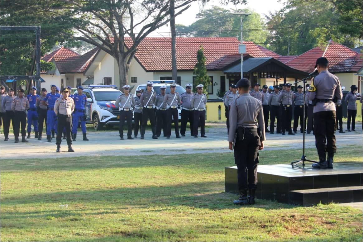 Gelar Operasi Simpatik Siwalima, Polres SBT Libatkan 300 Personel